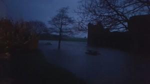 Castle Flood Night
